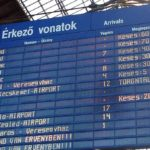 Érkező vonatok